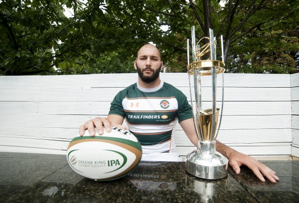 LONDON, ENGLAND - SEPTEMBER 03: Adam Preocanin of Ealing Trailfinders during the 2013/14 Greene King IPA Championship Launch at St Margarets Pub on September 03, 2013 in London, England. (Photo by Charlie Crowhurst/Getty Images)