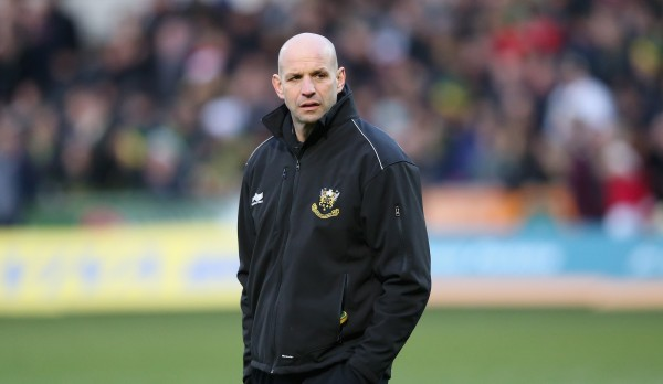 NORTHAMPTON, ENGLAND - DECEMBER 20: Jim Mallinder, the Northampton director of rugby looks on during the Aviva Premiership match between Northampton Saints and Leicester Tigers at Franklin's Gardens on December 20, 2014 in Northampton, England. (Photo by David Rogers/Getty Images)