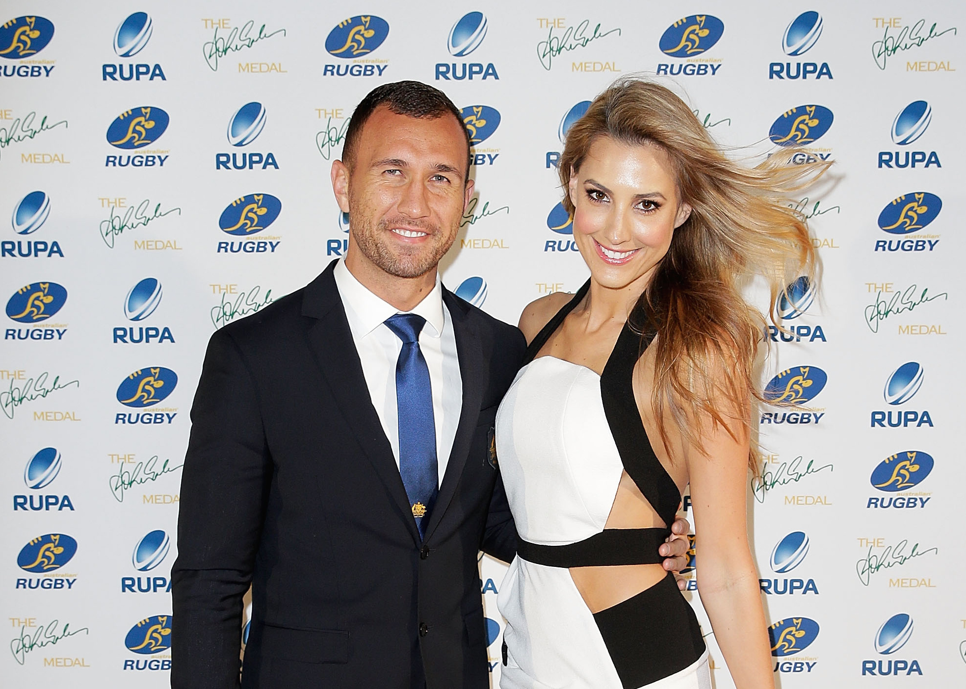 8 Rucking Hot Rugby WAGs You'll See At The Quarter Finals
