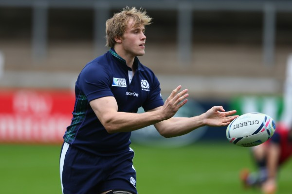 Lock Jonny Gray would have likely started the quarter-final against the Wallabies if not for suspension (Photo by Michael Steele/Getty Images)
