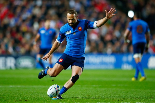during the 2015 Rugby World Cup Pool D match between France and Canada at Stadium mk on October 1, 2015 in Milton Keynes, United Kingdom.