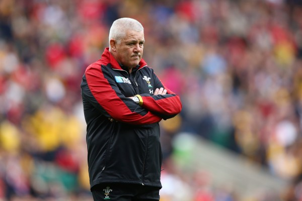 LONDON, ENGLAND - OCTOBER 10: Warren Gatland, Head Coach of Wales looks on prior to the 2015 Rugby World Cup Pool A match between Australia and Wales at Twickenham Stadium on October 10, 2015 in London, United Kingdom. (Photo by Paul Gilham/Getty Images)