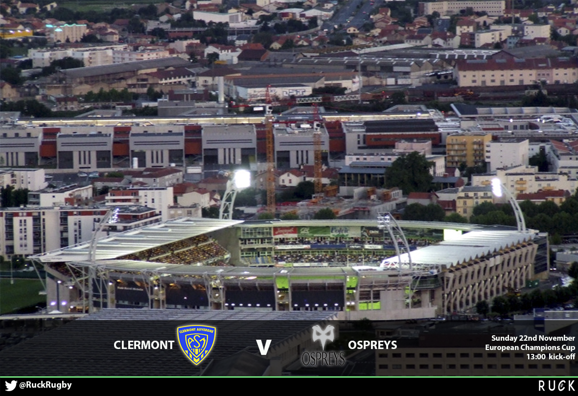 Clermont V Ospreys