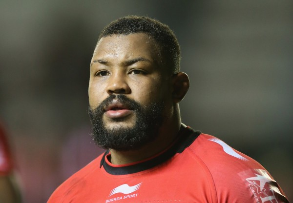 TOULON, FRANCE - DECEMBER 13: Steffon Armitage of Toulon looks on during the European Rugby Champions Cup pool three match between RC Toulon and Leicester Tigers at Felix Mayol Stadium on December 13, 2014 in Toulon, France. (Photo by David Rogers/Getty Images)