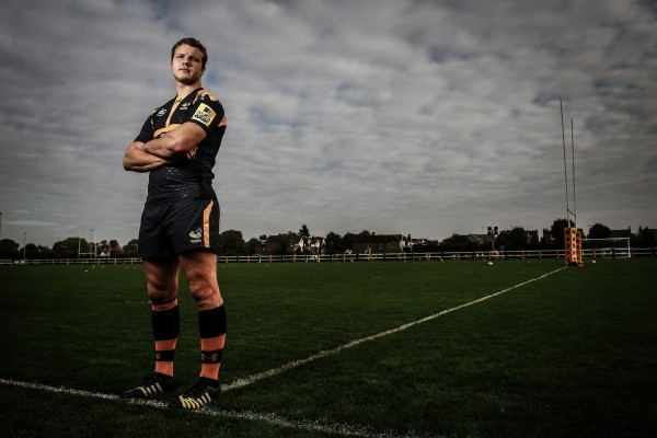 ACTON, ENGLAND - OCTOBER 20: Joe Launchbury of Wasps poses for a portrait during a Wasps Media Session at Twyford Avenue Sports Ground on October 20, 2015 in Acton, England. (Photo by Jordan Mansfield/Getty Images)