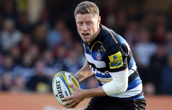 BATH, ENGLAND - OCTOBER 31: Rhys Priestland of Bath Rugby during the Aviva Premiership match between Bath Rugby and Harlequins at the Recreation Ground on October 31, 2015 in Bath, England. (Photo by David Jones/Getty Images)