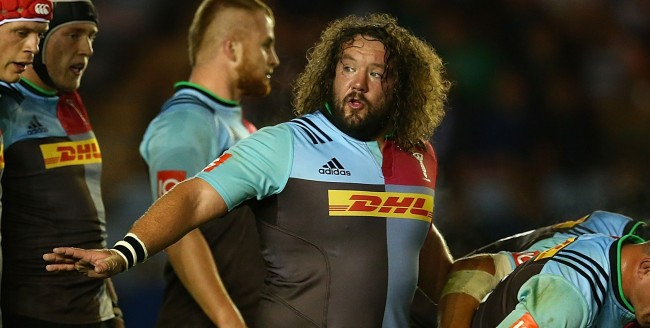 Wales and Lions legend Adam Jones signed a one-year extension with Quins earlier this week,
