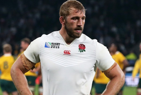 during the 2015 Rugby World Cup Pool A match between England and Australia at Twickenham Stadium on October 3, 2015 in London, United Kingdom.