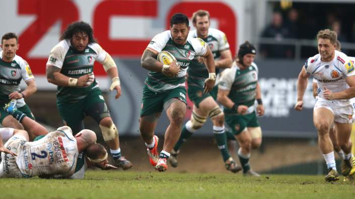 Manu Tuilagi strolls in for his first Premiership try in two years - are you watching Eddie Jones? I'm very sure he is.
