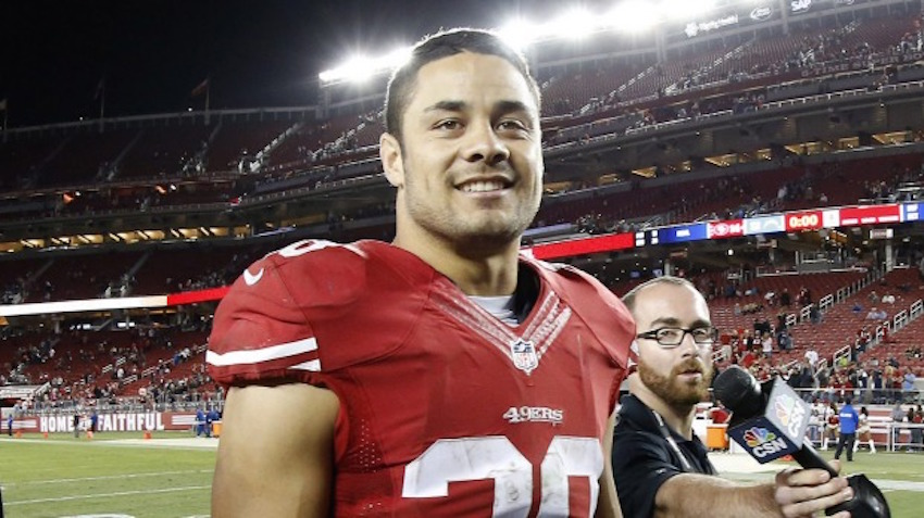 fc0765a2f NFL player leaves San Francisco 49ers to pursue dream of playing rugby  sevens at Olympics