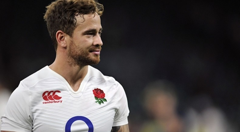 Strictly Editorial Use Only - No Merchandising. Mandatory Credit: Photo by Patrick Khachfe/JMP/REX/Shutterstock (4962910ai) Danny Cipriani of England looks on after the match England v France, United Kingdom - 15 Aug 2015