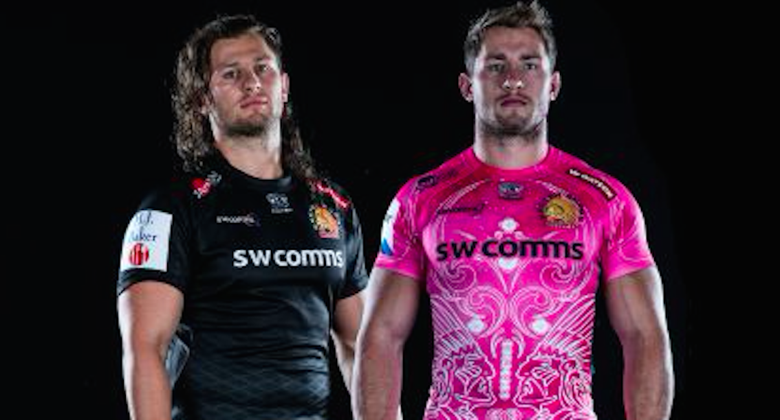 0df30452ac2 REVEALED: Exeter Chiefs new away shirt is something special