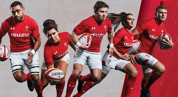 online store 53f5b c7bc2 REVEALED: The unique new Wales rugby kit has just been ...