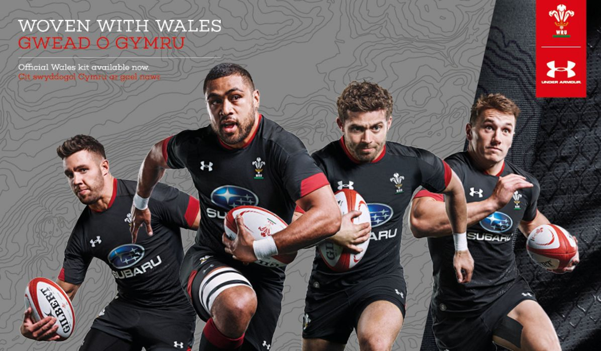 bec4db49a Wales unveil their new away kit for the 2017 18 and 18 19 seasons