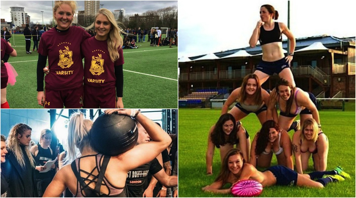 rugby chicks
