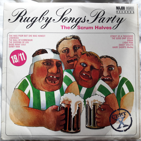Retro Rugby: Nine terrific, old and weird LP Covers of rugby