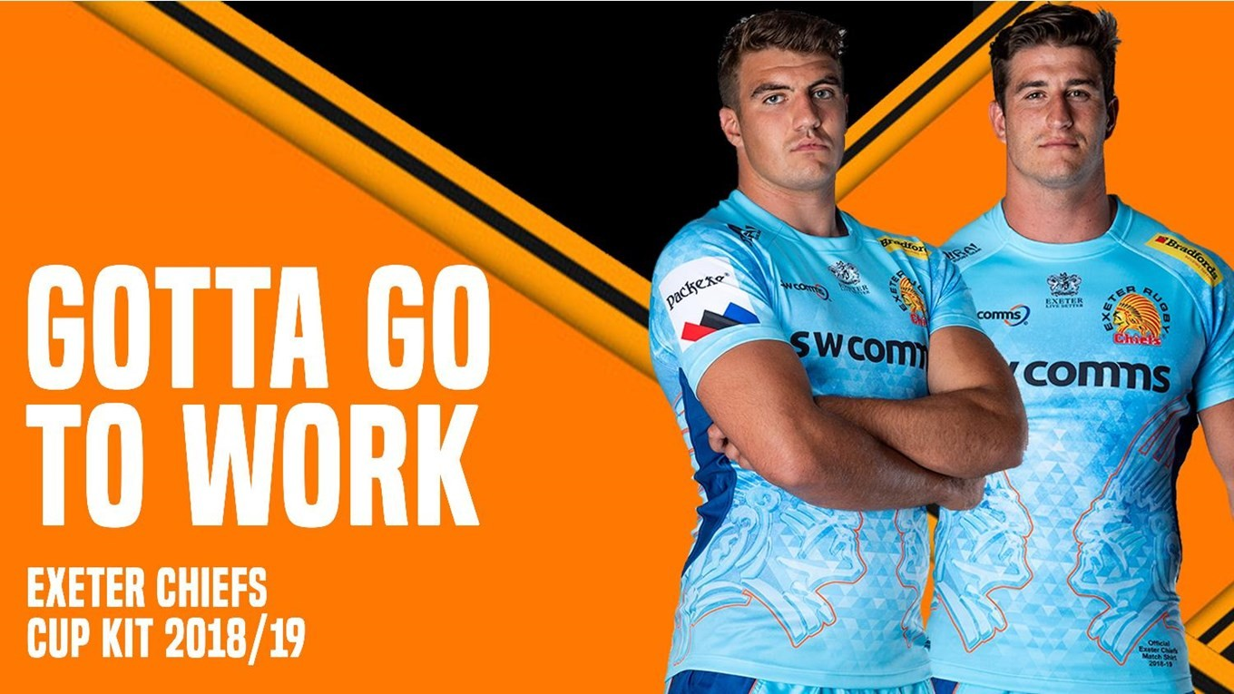787acfebc Exeter Chiefs reveal their two kits for the 2018 19 season