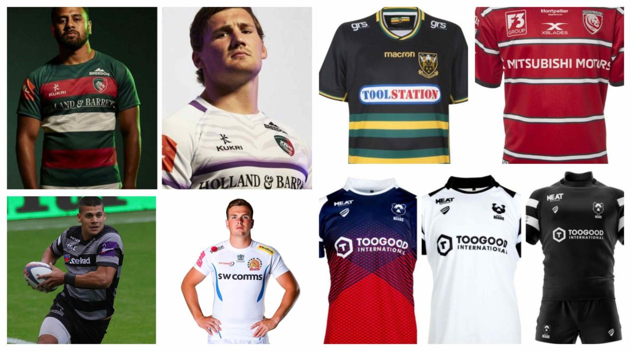 Gallagher Premiership 2018 19 new kits revealed  Discover what strips YOUR  team will wear this season  d2f678fa4
