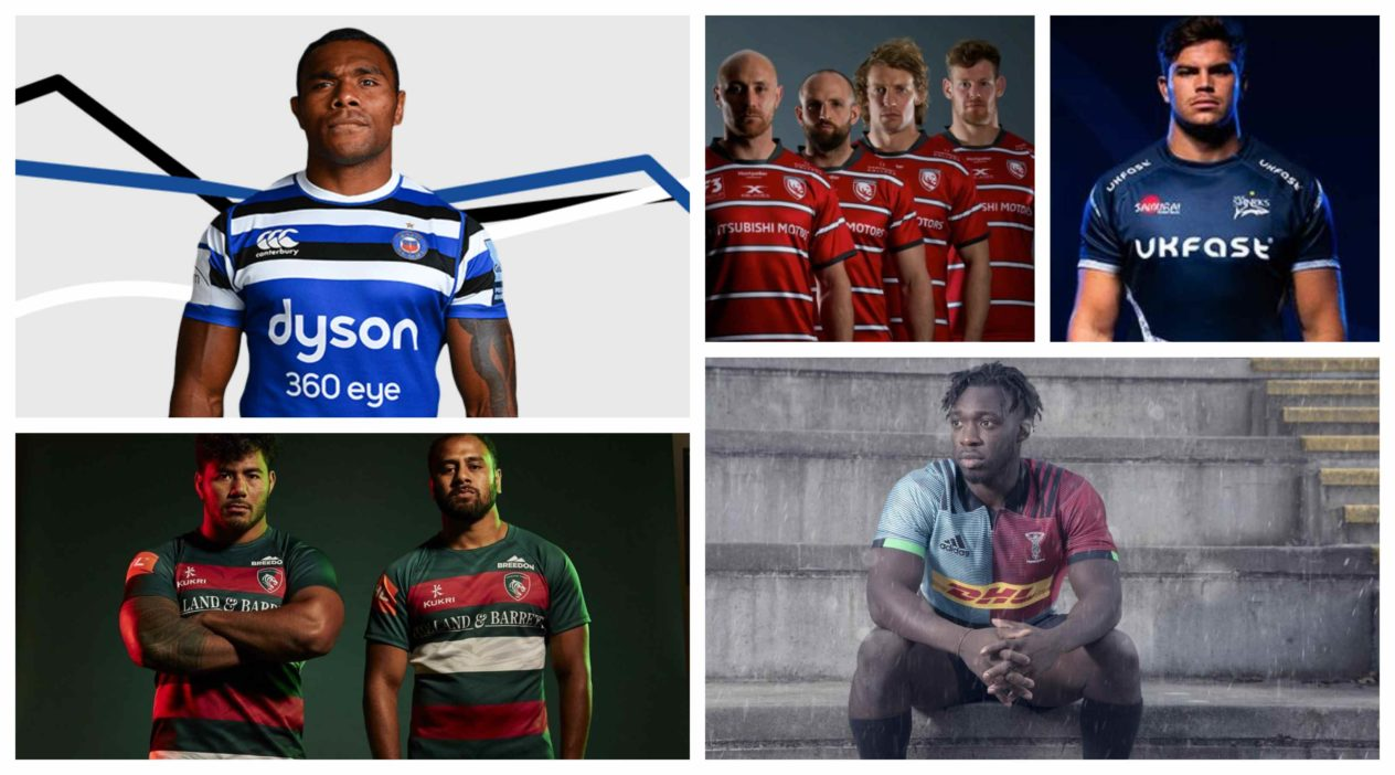Gallagher Premiership kits 2018/19: Every home shirt ranked by price