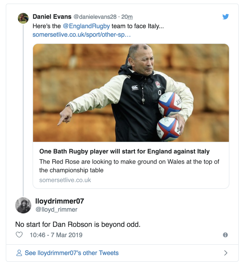 England Fans Are Annoyed That A Player Has Been Overlooked