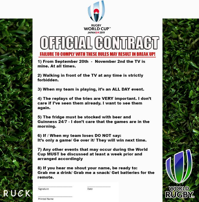 Rugby contract meme