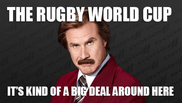 World Cup rugby meme