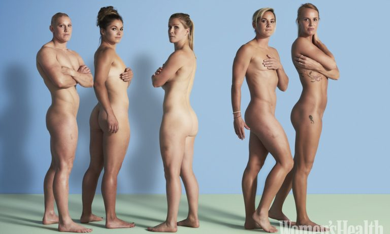 Members of England Womens rugby team pose nude to promote