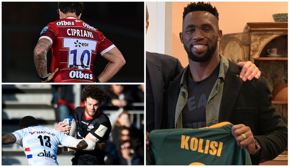 RUGBY TRANSFER ROUND-UP: Kolisi released, Cipriani return date, and more…