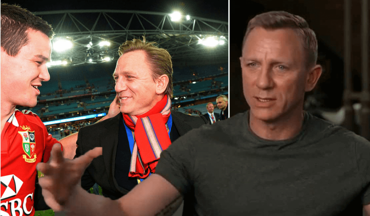 """""""A true gent off the pitch"""" – Daniel Craig (James Bond) ranks his three favourite rugby players EVER!"""